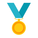Streaking with the Kids Medal Icon