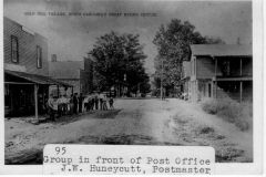 Main-Street-Gold-Hill-Post-Office-J.W.-Huneycutt-Postmaster-r