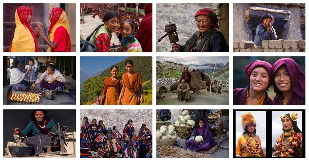 Back cover of a fund raising calendar for school girls in Nepal donated by Craig Lovell