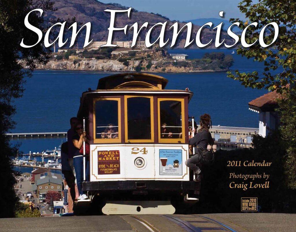 San Francisco calendar with photography by Craig Lovell
