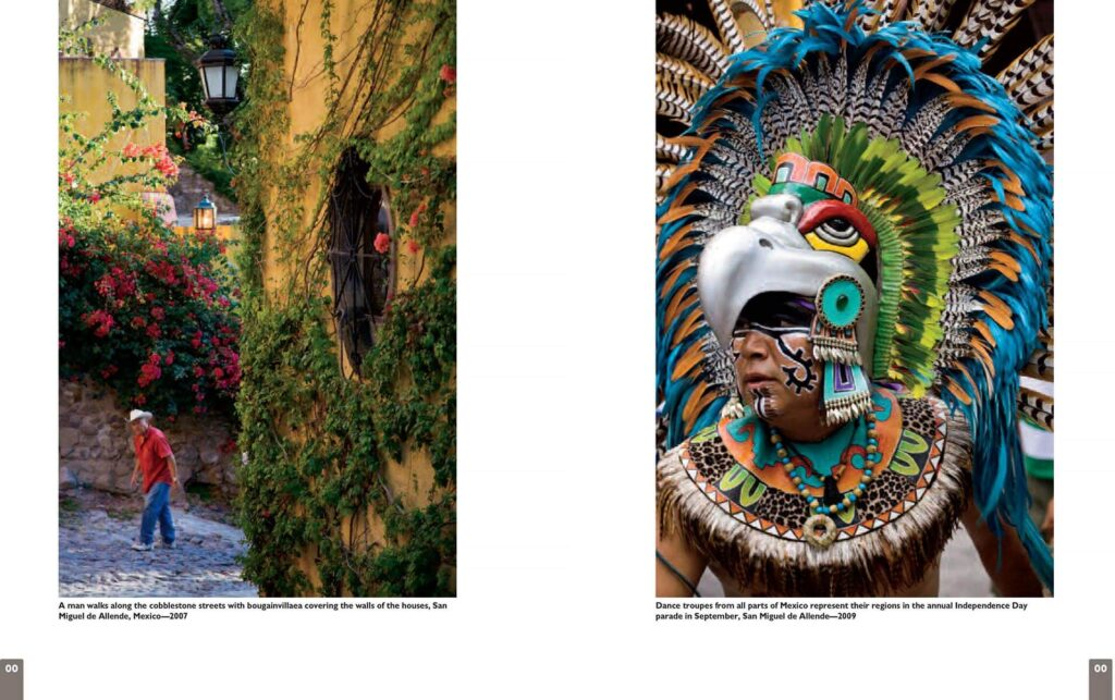 Color magazine featured Craig Lovell in a multi-page layout of his travel work.  Featured here are photos from San Miguel de Allende Mexico.