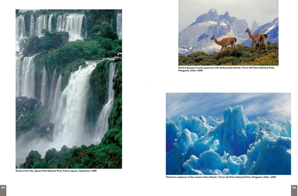 Color magazine featured Craig Lovell in a multi-page layout of his travel work.  Featured here are photos from Patagonia and Iguazu Falls.