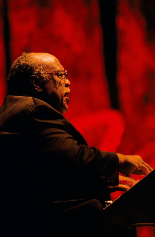 LES McCANN plays the PIANO and SINGS at the MONTEREY JAZZ FESTIVAL - CALIFORNIA