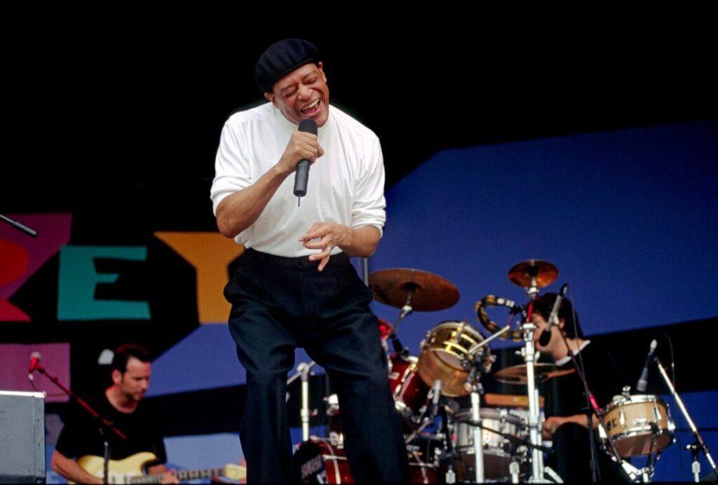 AL JARREAU performs at the MONTEREY JAZZ FESTIVAL - CALIFORNIA