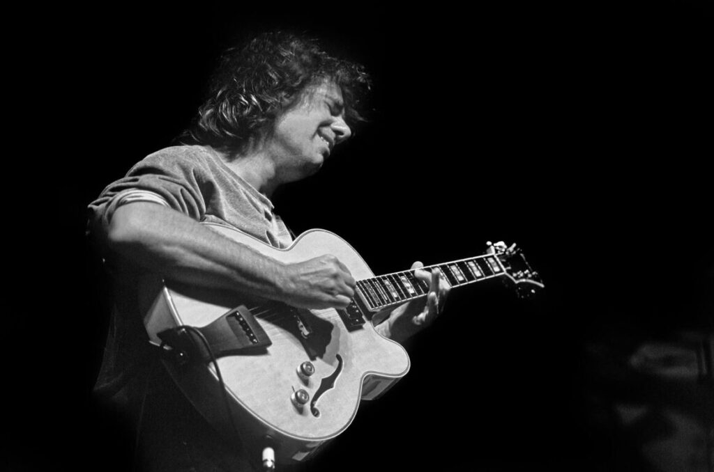 PAT METHENY performs with his trio at the MONTEREY JAZZ FESTIVAL - CALIFORNIA