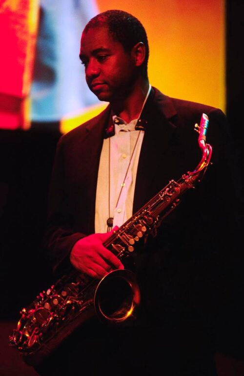 BRANFORD MARSALIS performs with the McCoy Tyner Trio at the MONTEREY JAZZ FESTIVAL - CALIFORNIA