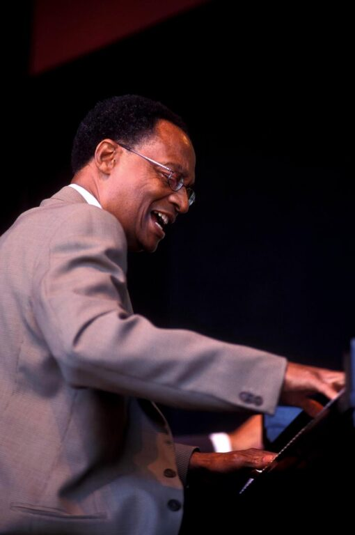 RAMSEY LEWIS plays the GRAND PIANO at the MONTEREY JAZZ FESTIVAL