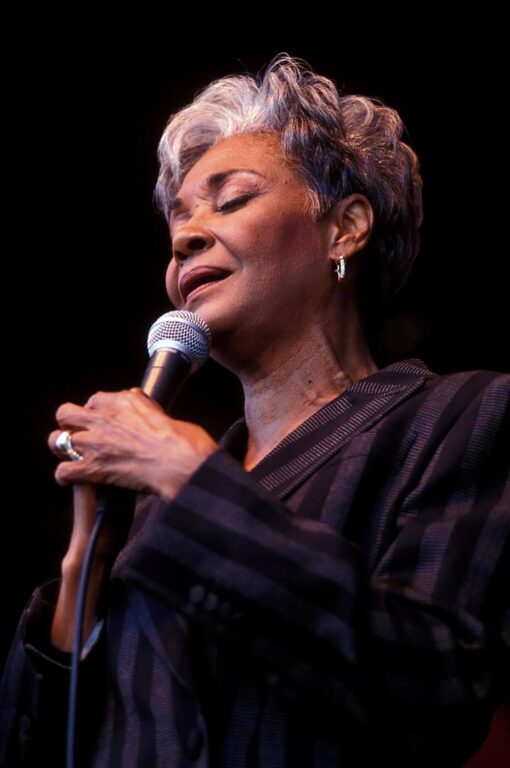 NANCY WILSON sings accompanied by RAMSEY LEWIS on the GRAND PIANO at the MONTEREY JAZZ FESTIVAL
