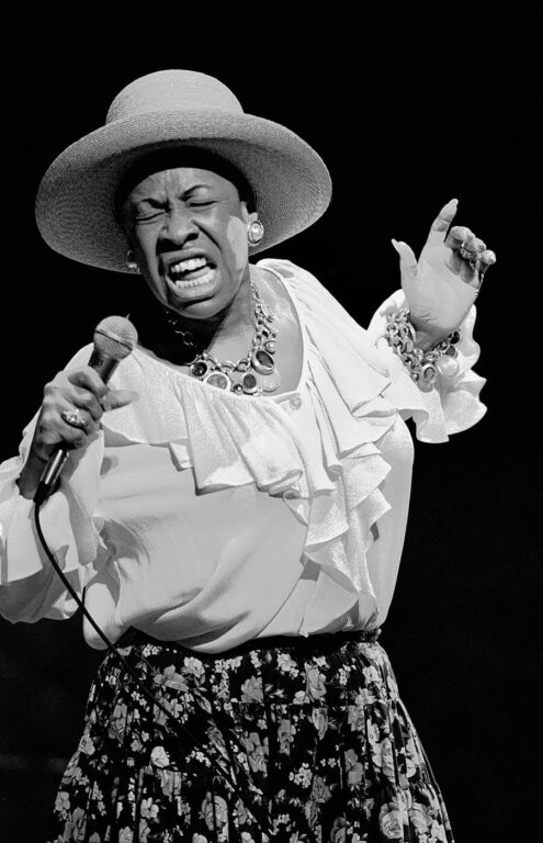 BETTY CARTER performs at the MONTEREY JAZZ FESTIVAL  - MONTEREY, CALIFORNIA