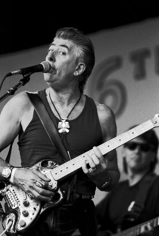 JOHN MAYALL performs at the MONTEREY BAY BLUES FESTIVAL - MONTEREY, CALIFORNIA