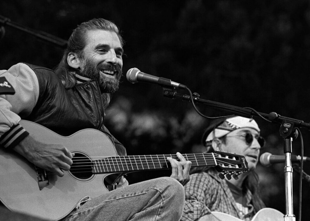 KENNY LOGGINS and JIMMY MESSINA reunite at the Esalen Institute to perform on the 4th of July - CALIFORNIA