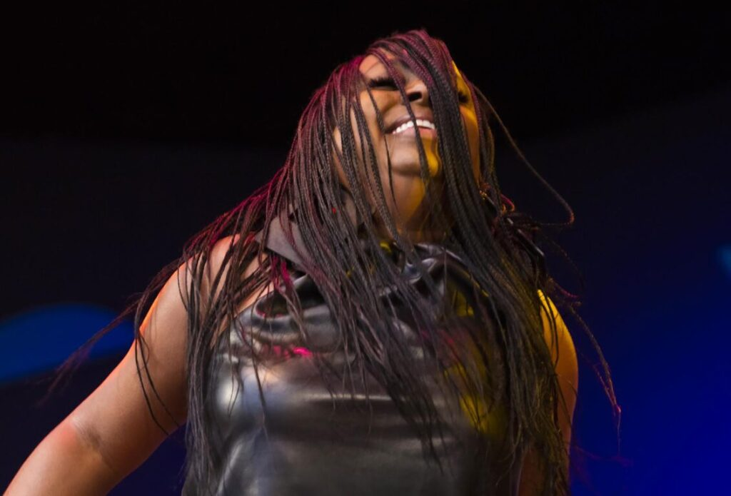 Ledisi wows the crowd  with her vocals and energetic stage performance at the 2021 Monterey Jazz Festival