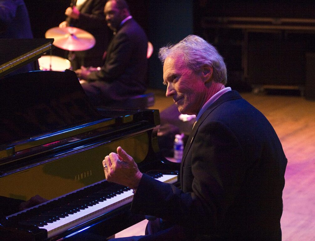 CLINT EASTWOOD plays the PIANO at THE MONTEREY JAZZ FESTIVAL