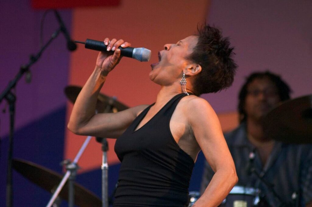BETTYE LAVETTE sings at the MONTEREY JAZZ FESTIVAL - CALIFORNIA