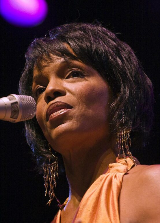 NNENNA FREELON sings with the 50th ANNIVERSARY ALL-STARS at the 50th anniversary MONTEREY JAZZ FESTIVAL - MONTEREY, CALIFORNIA