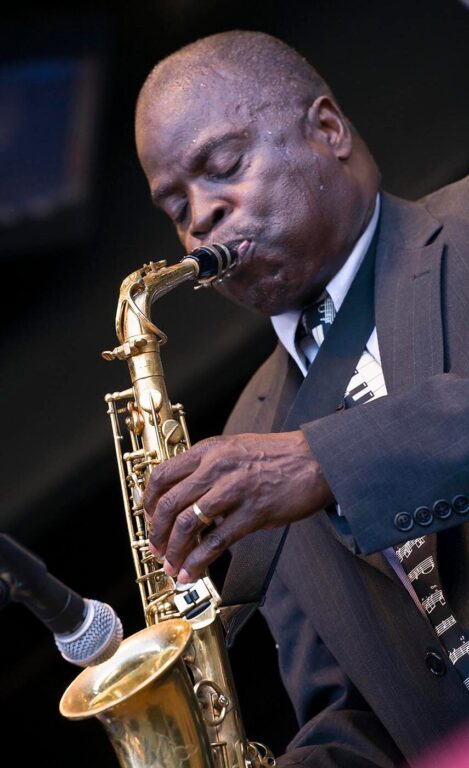 MACEO PARKER plays saxophone at the 51st MONTEREY JAZZ FESTIVAL - MONTEREY, CALIFORNIA