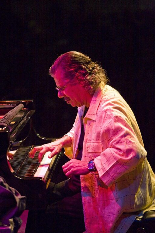 CHICK COREA plays piano at the MONTEREY JAZZ FESTIVAL - CALIFORNIA