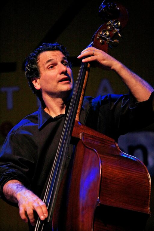 JOHN PATITUCCI plays stand up base with his trio at the 2009 MONTEREY JAZZ FESTIVAL - CALIFORNIA