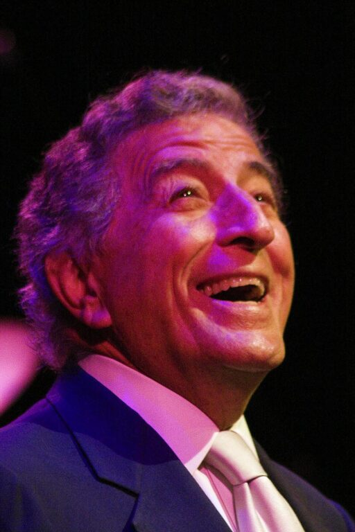 The legendary TONY BENNETT sing to a sell out crowd at the MONTEREY JAZZ FESTIVAL