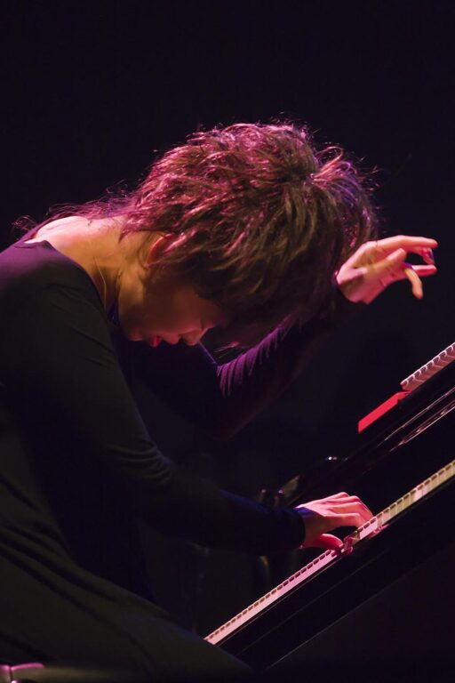 HIROMI play piano on the Jimmy Lyons Stage - 54TH MONTEREY JAZZ FESTIVAL 2011
