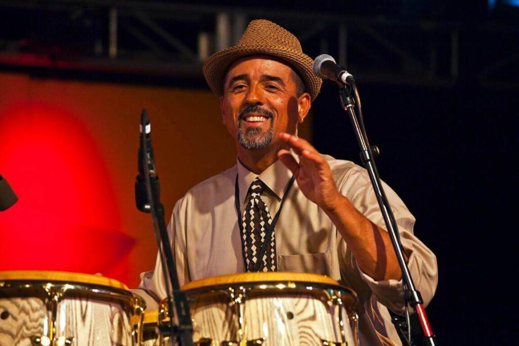 The JOHN SANTOS SEXTET performs at the Nightclub - 54TH MONTEREY JAZZ FESTIVAL 2011
