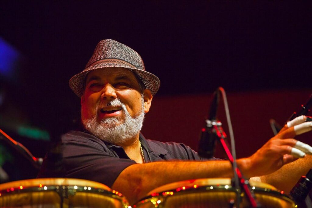PANCHO SANCHEZ and his Latin Jazz Band perform on the Jimmy Lyons Stage - 54TH MONTEREY JAZZ FESTIVAL 2011