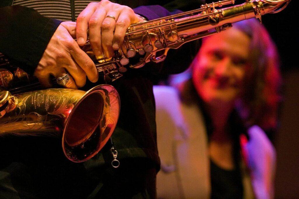 BOB MINTZER (Saxophone) of the YELLOWJACKETS (25th Anniversary Celebration) performs at THE MONTEREY JAZZ FESTIVAL