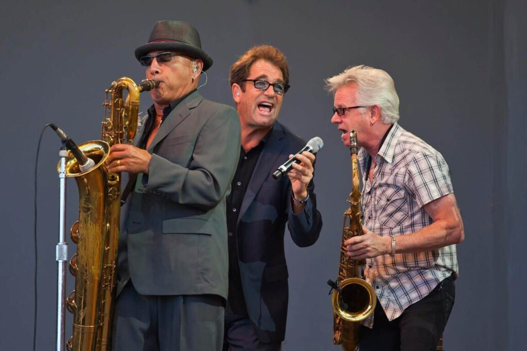 HUEY LEWIS AND THE NEWS perform SOULSVILLE on the Jimmy Lyons Stage - 54TH MONTEREY JAZZ FESTIVAL 2011