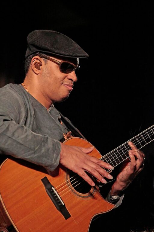 RAUL MIDON performs on the Garden Stage - 54th MONTEREY JAZZ FESTIVAL, 2011