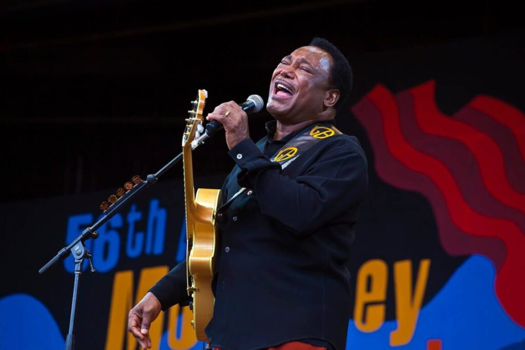 GEORGE BENSON preforms on Jimmy Lyons Stage at the Monterey Jazz Festival - MONTEREY, CALIFORNIA