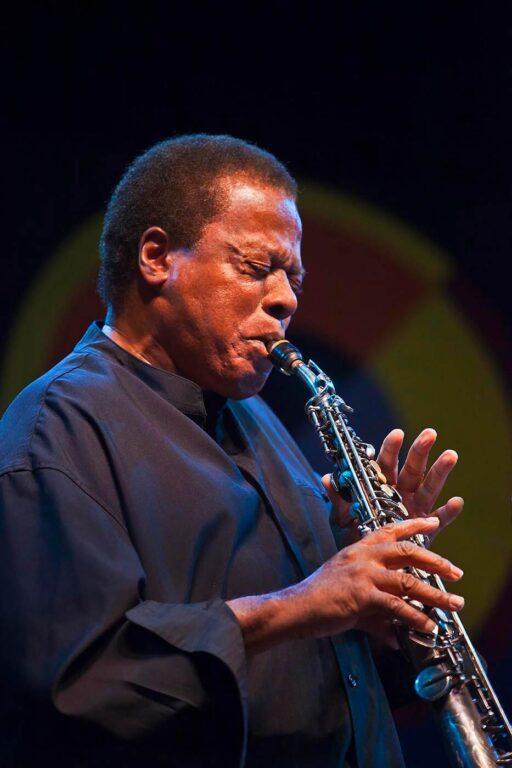 WAYNE SHORTER performs with his quartet on the Jimmy Lyons Stage at the Monterey Jazz Festival - MONTEREY, CALIFORNIA