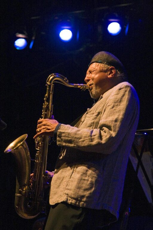 CHARLES LLOYD (Tenor Saxophone) performs with the CHARLES LLOYD QUARTET at THE MONTEREY JAZZ FESTIVAL