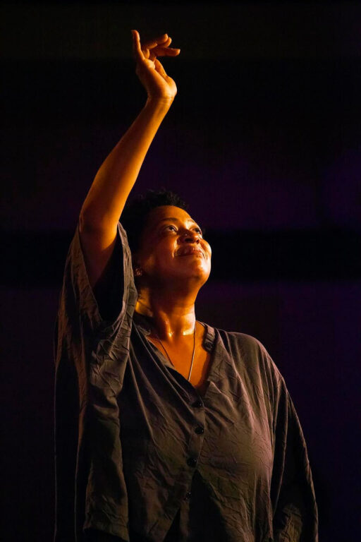 LISA FISCHER sings with GRAND BATON in the Night Club at the MONTEREY JAZZ FESTIVAL