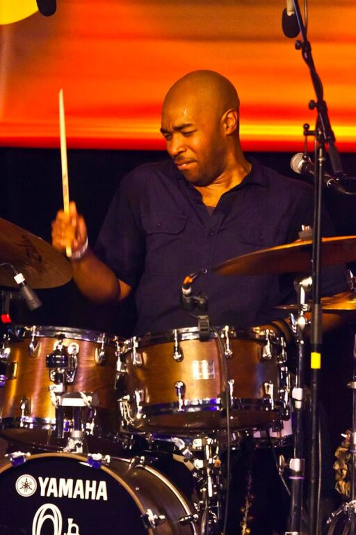 ERIC HARLAND VOYAGER preforms in the nightclub at the MONTEREY JAZZ FESTIVAL