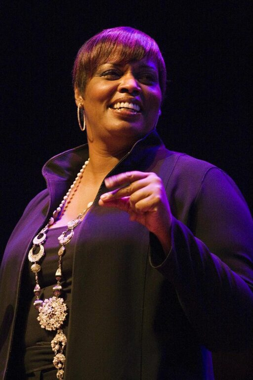 DIANNE REEVES performs at THE MONTEREY JAZZ FESTIVAL