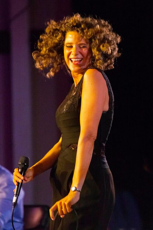 Cyrille Aimmee performs at the 58th Monterey Jazz Festival - California