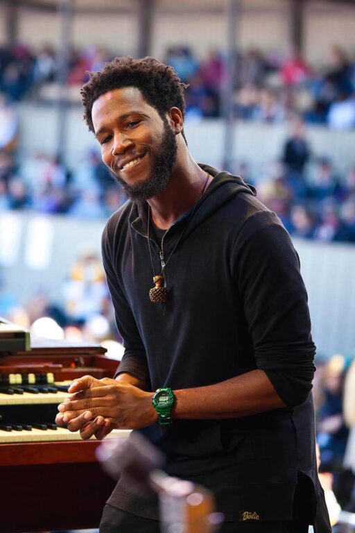 CORY HENRY and the FUNK APOSTLES perform at the 59th MONTEREY JAZZ FESTIVAL - MONTEREY, CALIFORNIA