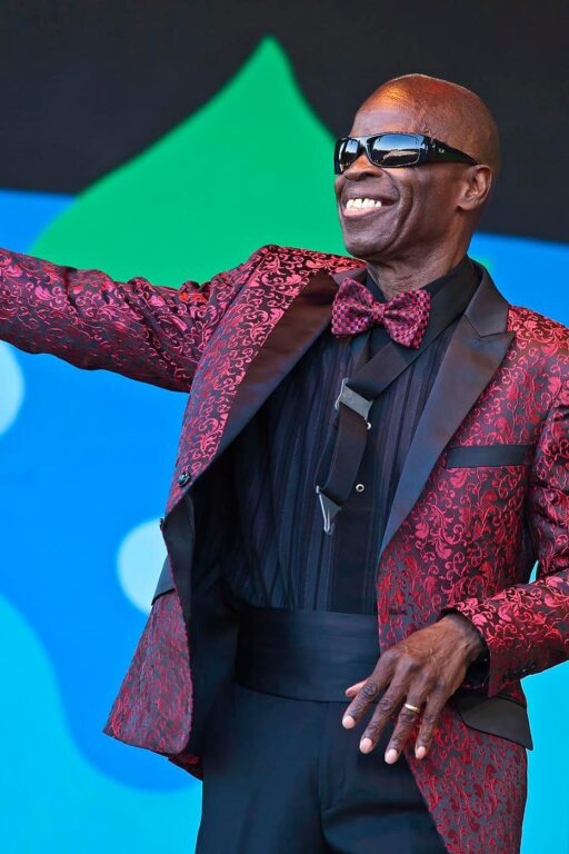 MACEO PARKER sings with the RAY CHARLES ORCHESTRA during the 59th MONTEREY JAZZ FESTIVAL - CALIFORNIA