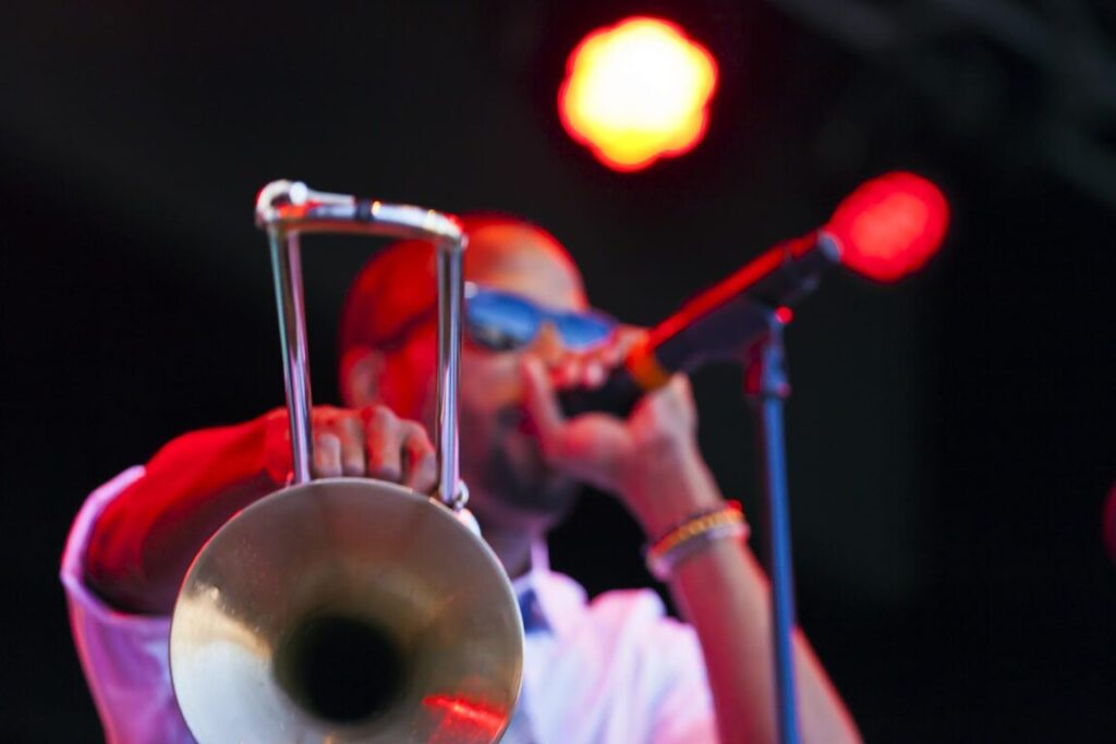 Trombone Shorty and Orleans Avenue perform at the 58th Monterey Jazz Festival - California