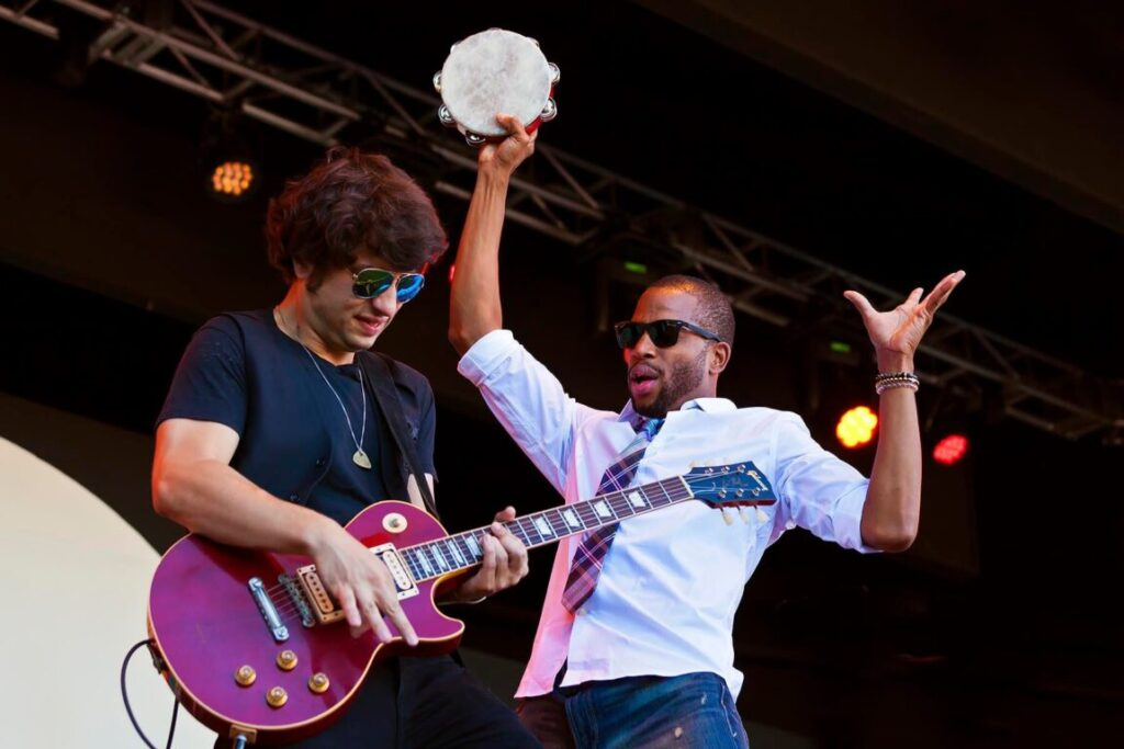 Trombone Shorty & Orleans Avenue perform at the 58th Monterey Jazz Festival - California