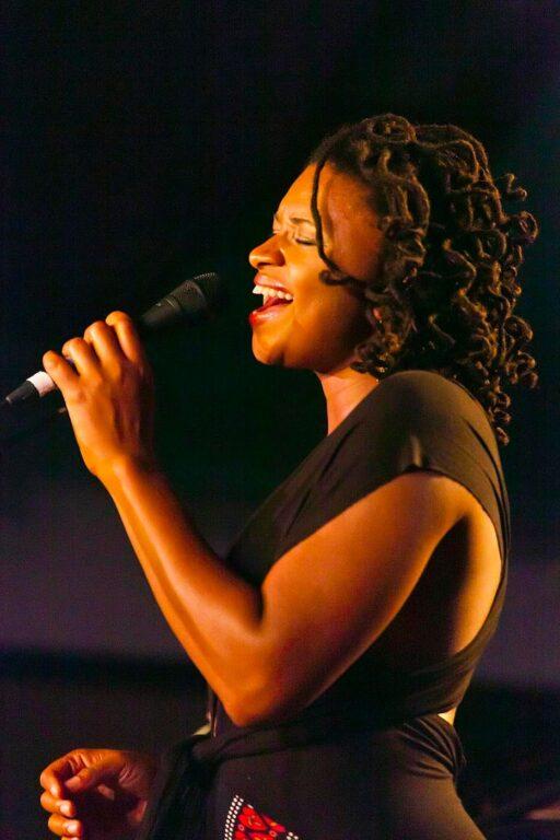 Liz Wright sings at the 58th Monterey Jazz Festival - California