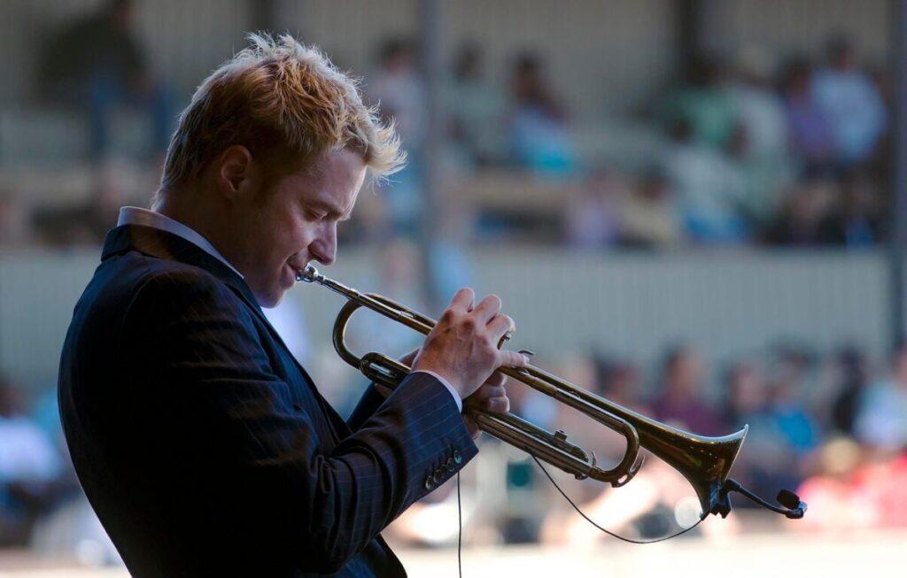 CHRIS BOTTI (Trumpet) performs at THE MONTEREY JAZZ FESTIVAL