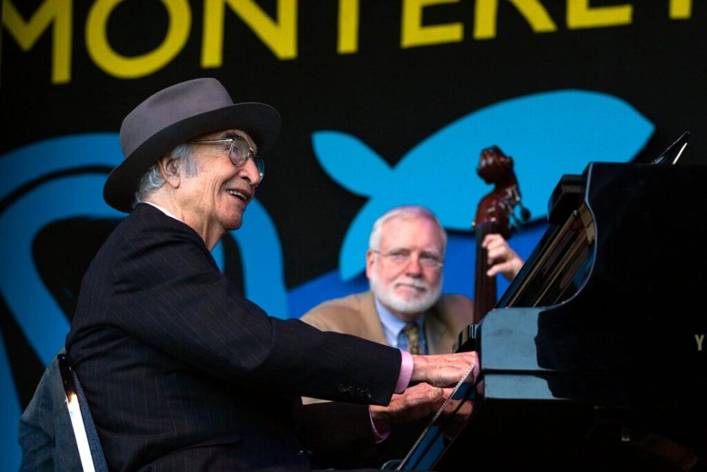 DAVE BRUBECK (Piano) performs with the DAVE BRUBECK QUARTET & Special Guests at THE MONTEREY JAZZ FESTIVAL