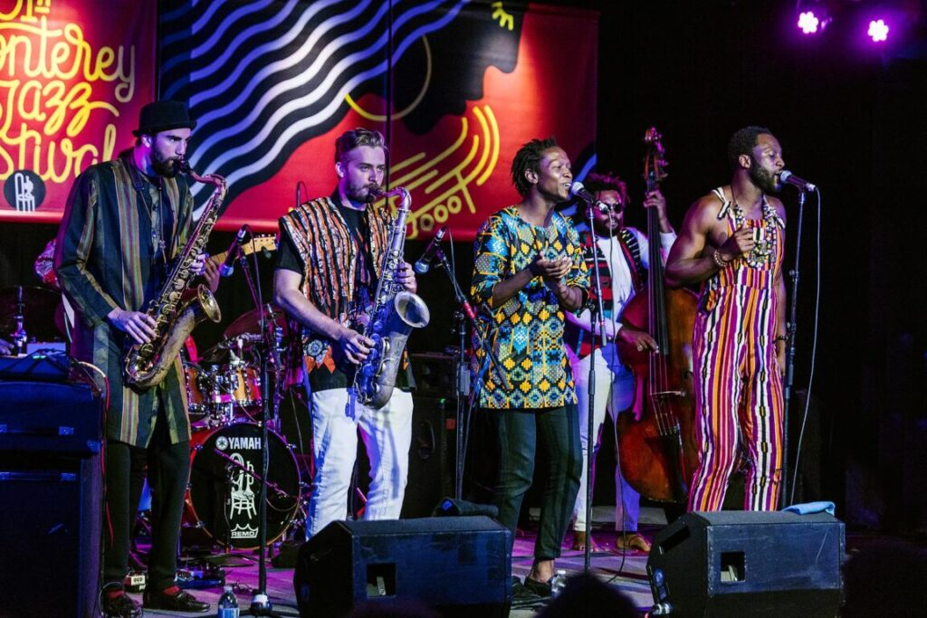 MWENSO AND THE SHAKES performing at the 61st Monterey Jazz Festival - MONTEREY, CALIFORNIA