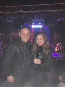 Eric with Kimberly Dalius
