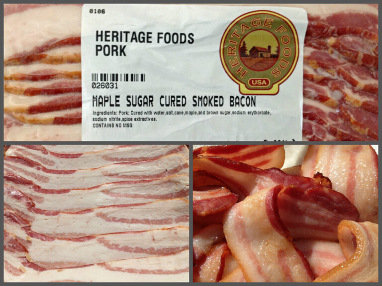 Heritage Foods USA: Old Spot Bacon
