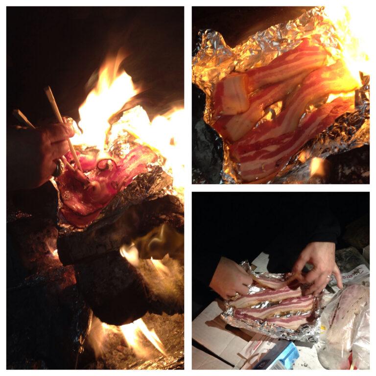 Campfire Bacon