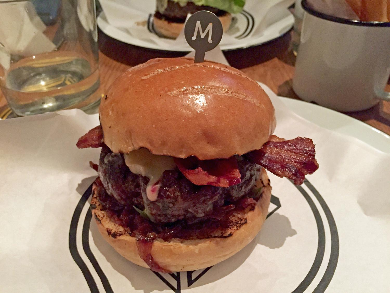 Bacon Cheeseburger at Beef & Liberty, Hong Kong