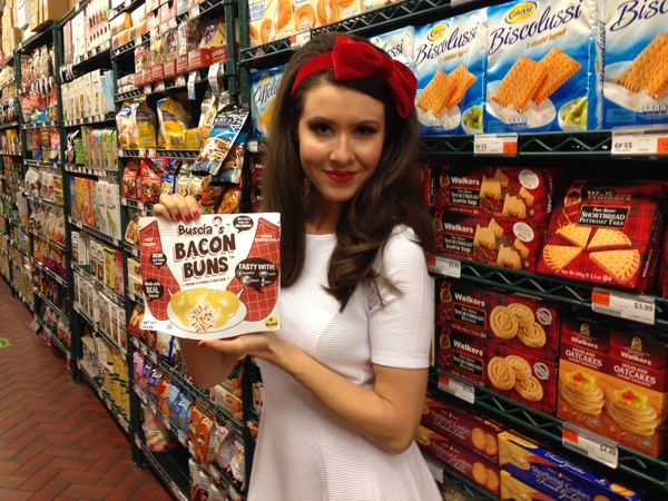 Kiva: Buscia's Bacon Buns