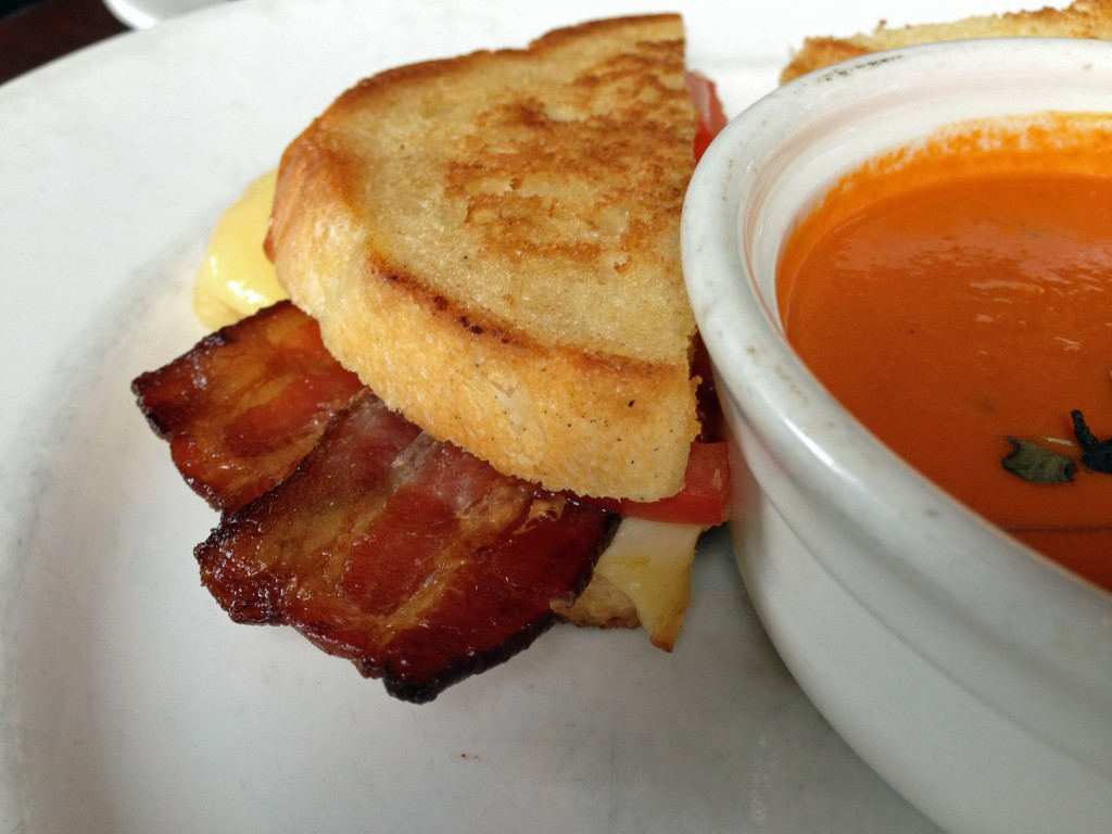 Grilled Cheese and Soup at Zoom in Park City